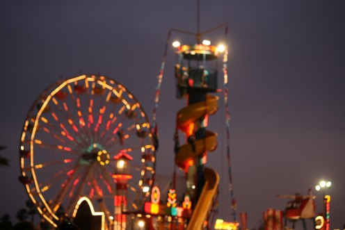 The Ventura County Fair comes alive with night lights
