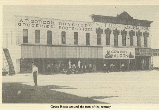 Photo of the location of the Opera House now, taken around the turn of the century.