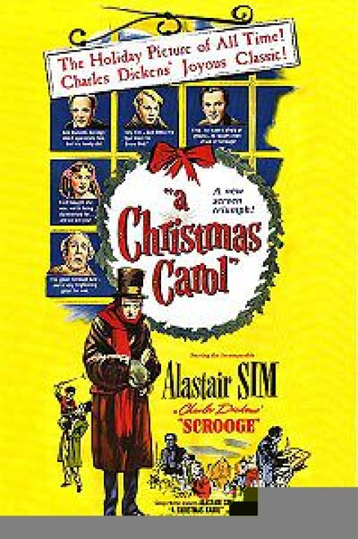 1951 A Christmas Carol, starring Alastair Sims. (Wikipedia)