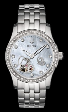 Bulova Diamond Mother-of-pearl