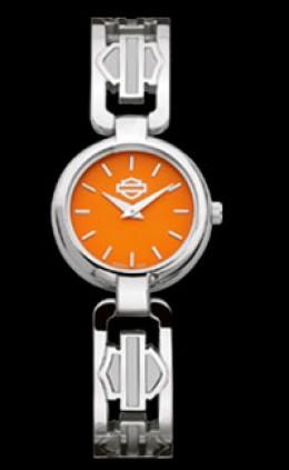 Bulova Harley Davidson Orange Dial