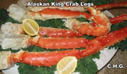 Delicious King Crab Legs