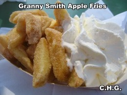 Have you ever had Granny Smith Apple Fries