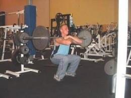 Front Squat - Squatting Position