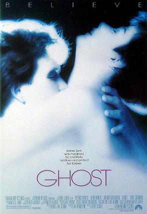 Ghost, 1990, starring Patrick Swayze and Demi Moore  Source: Wikipedia