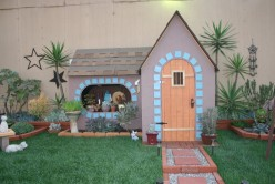 Teeny as a small dollhouse, or large as a child's playhouse, you can create small dwellings to bring your childs' Fantasy to Life!