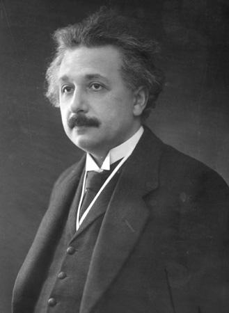 Albert Einstein in middle age