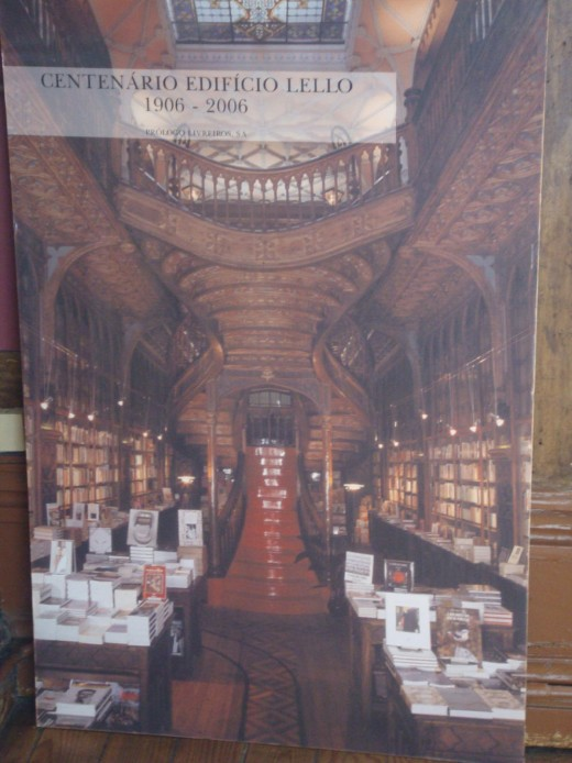 100th anniversary poster of the bookstore in its current location.