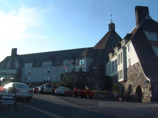 "The Timberline Lodge played the exterior of the hotel from the movie ""The Shining"""