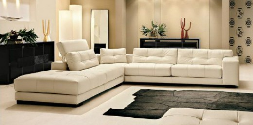 10 stunning corner sofa options for the stylish home for Sofas modernos en l