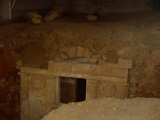 The Western Macedonian Tomb