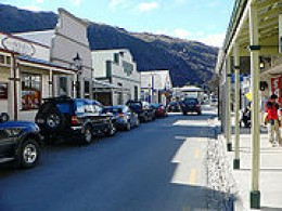 Arrowtown , a few miles outside of Queenstown ,New Zealand ,a favourite camping place we stayed many times.