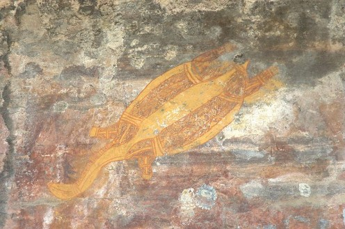 Turtle Rock Painting