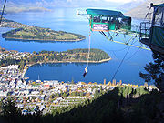 Home of the first world famous Bungy Jump-Queenstown ,New Zealand,