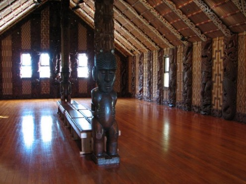 Inside the Treaty House, Waitangi