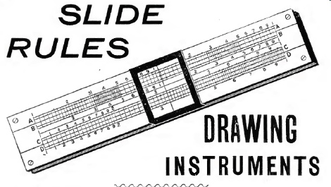 Here is a slide rule