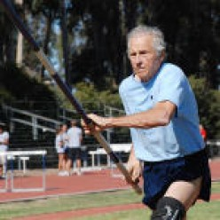Bud Held  80 Years Old Pole Vaulter