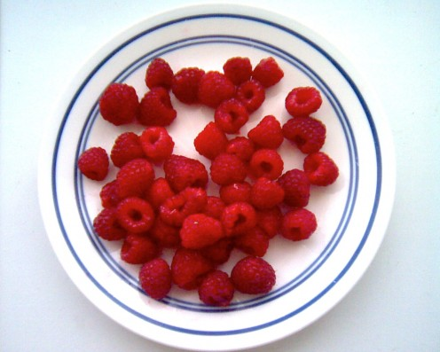 Raspberries / E. A. Wright