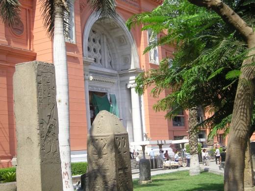 Egyptian Museum.  Photo by Glendon Caballero