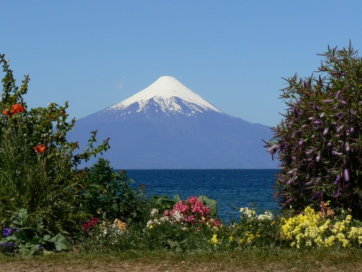Sights in Chile: Osorno Volcano