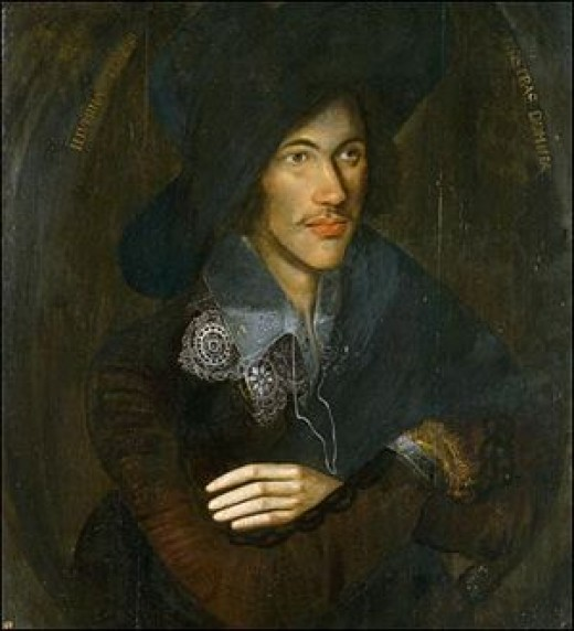 John Donne as a Young Man. Artist Unknown.  National Portrait Gallery