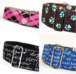 Designer dog collars are all the rage!