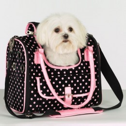 Designer dog carriers are the latest craze!