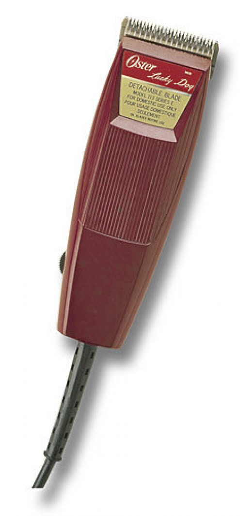 """Oster """"Lucky Dog"""" clippers are best for home use."""