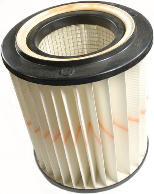 Example of HEPA Filter.