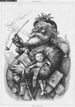 This image appeared in Harper's Weekly in 1881.