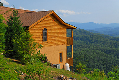 It's all about the view when renting a cabin in Pigeon Forge or Gatlinburg, TN.