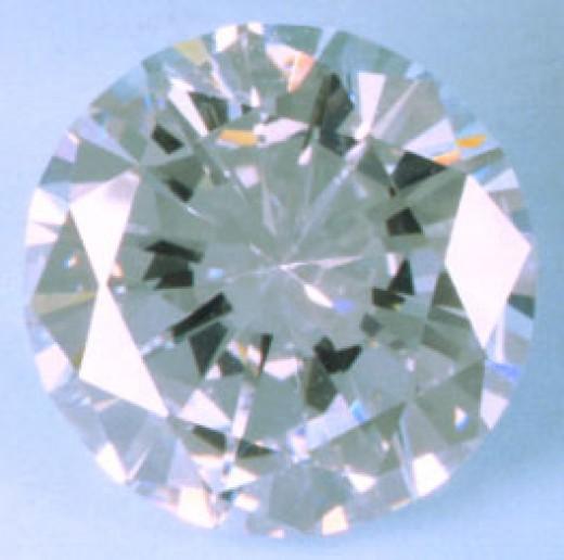 A fake diamond