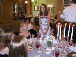 Birthday Parties for Teens: Black & White Tea