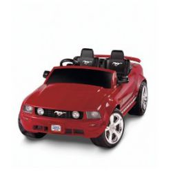 Again, this stylish red Power Wheels Ford Mustang will give  your kid(s) something fun to do. Seats 2 kids. They will just have a blast!
