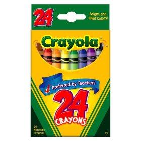 Crayola Crayons - A Classic Kids Crayon and Popular too.  Crayola image copyright Crayola 2009.
