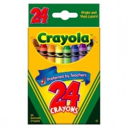 Crayola Crayons - A Classic Kids Crayon and Popular too.  Crayola image copyright Crayola 2009.