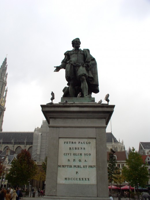 Paul Rubens in Antwerpen