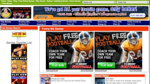 Making Money Online With Free Flash Game Websites