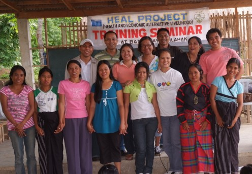 Mothers graduate from Health, Education, Alternative Livehood seminar in Lemlahak Village
