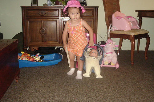 Toddler dolls are a favorite toy of little girls