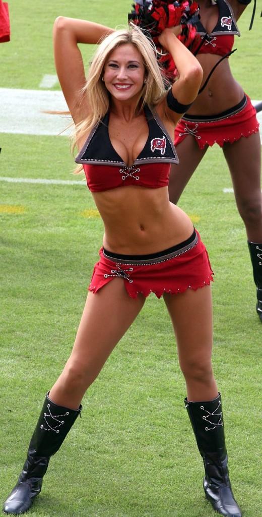 Tampa Bay Buccaneer Cheerleader