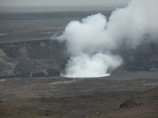 Eruption at Halemaumau Crater