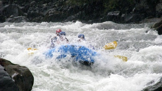 Rafting in Pucon
