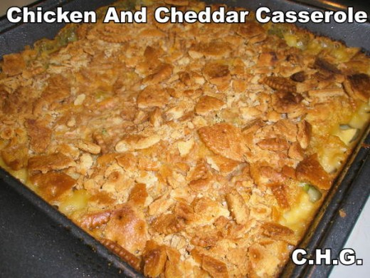 Chicken And Cheddar Casserole Recipe. Please Post Your Comments Below Now.