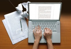 Writing about Writing about making money online
