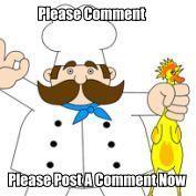 Please Post Your Comments Below.