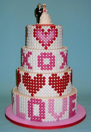 m+m cake