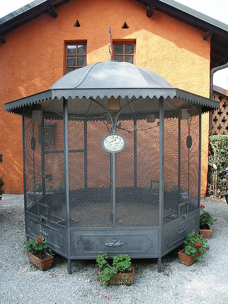Example Of An Aviary...