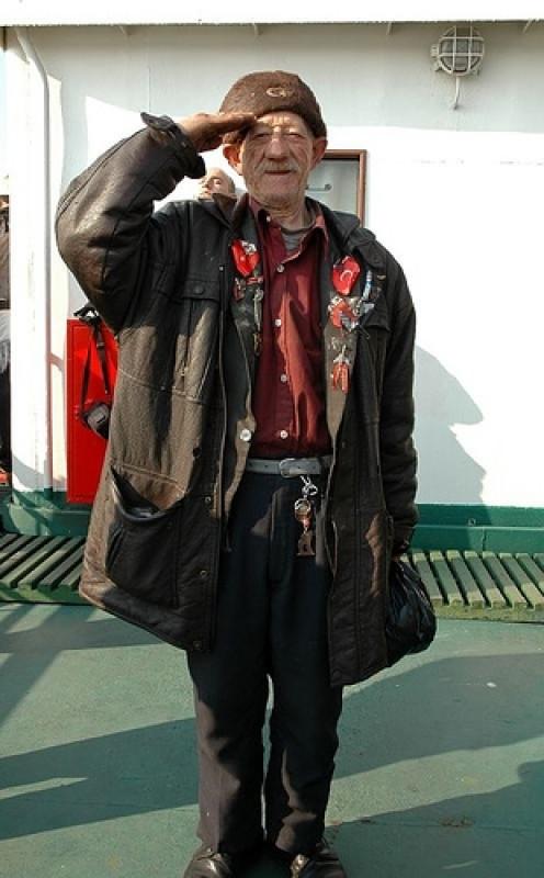 Turkish Veteran Photo: WalteMitty