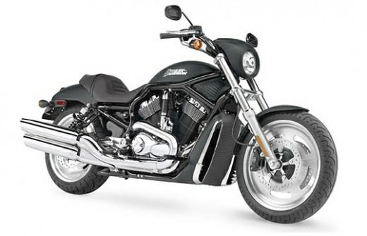 Black Harley Davidson Bike